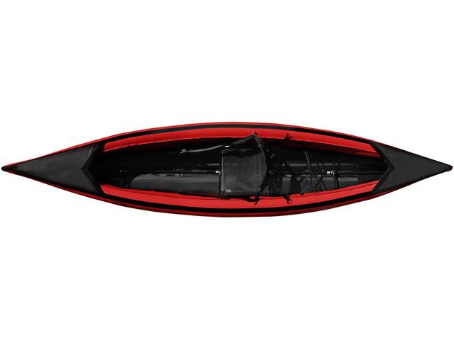 nortik scubi 1 XL Kayak, red/black